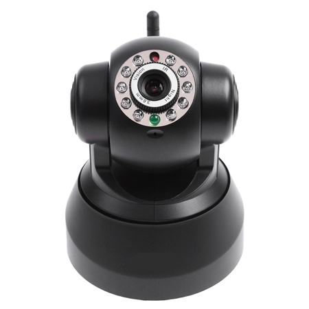 Black EasyN Wireless WIFI IR LED IP Camera Nightvision