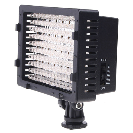CN-160 LED Video Light Camera Camcorder Lighting