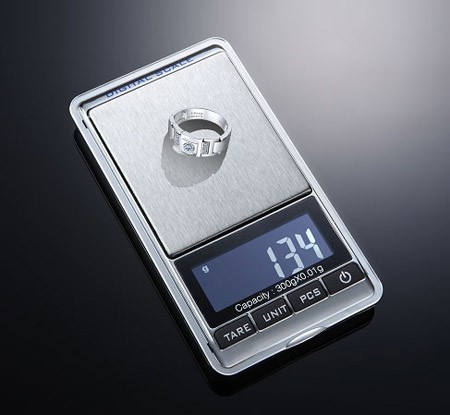 New 300g x 0.01g Mini Digital Jewelry Pocket Gram Scale