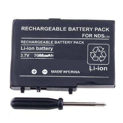 vervangenment Battery 2000mAh Nintendo DS Lite NDSL+TOOL