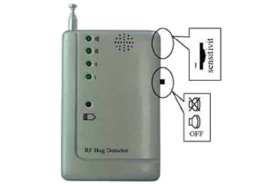 GSM AUDIO BUG RF SIGNAL DETECTOR WIRELESS CAMERA FINDER
