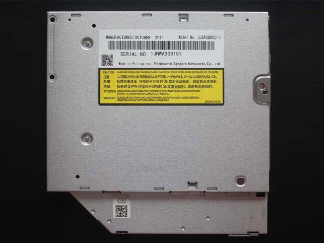UJ8A2 UJ8A2ABSX2-S 9.5mm SATA Slim 8X DVD RW Burner Drive voor SONY Vaio PCG VPC