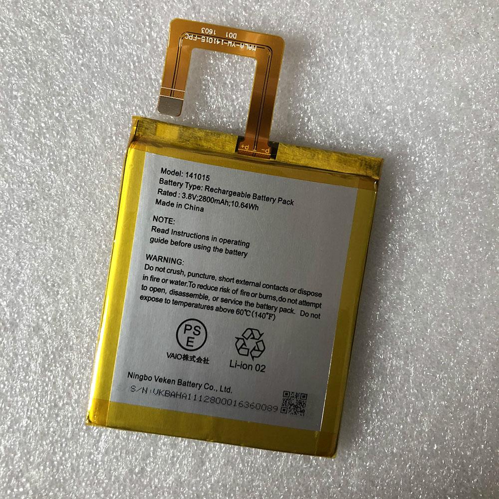 141015 2800mAh/10.64Wh 3.8V/4.35V laptop accu