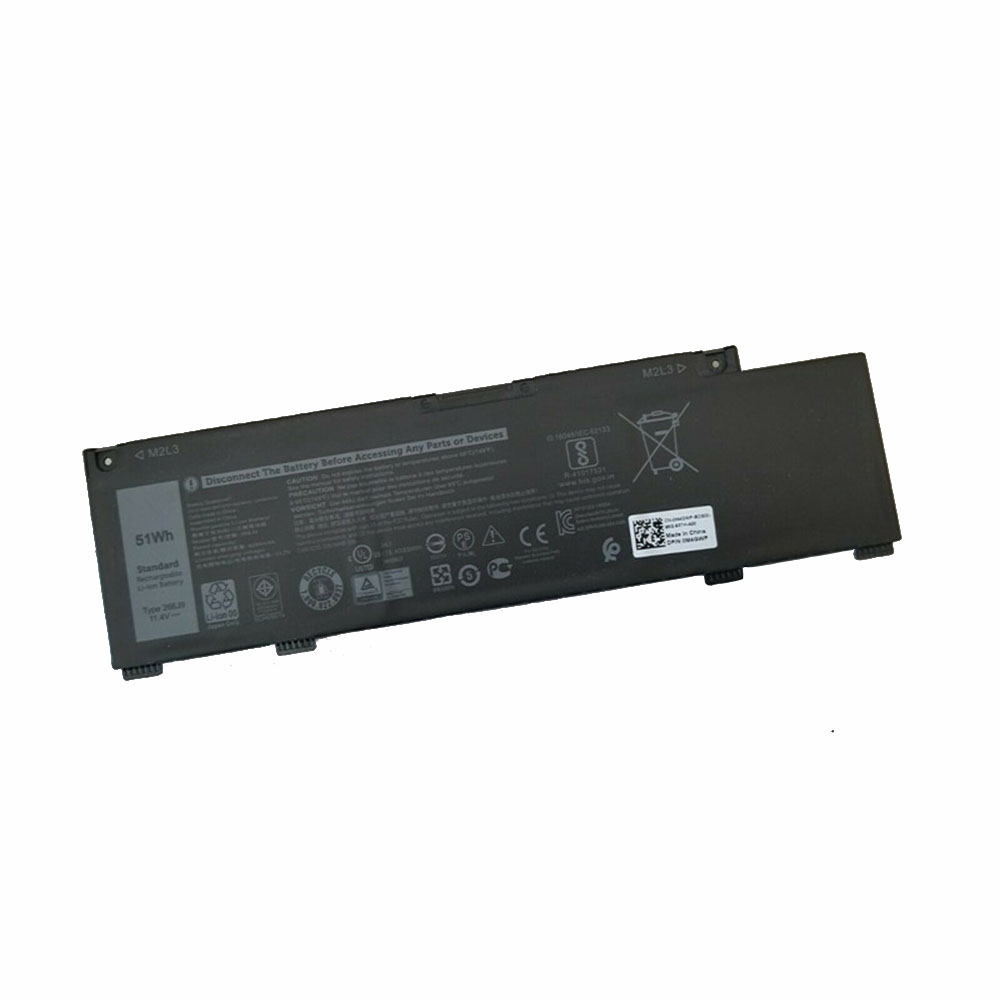 266J9 4255mAh/51Wh 11.4V/13.2V laptop accu