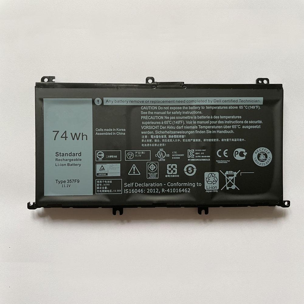 357F9 laptop accu's