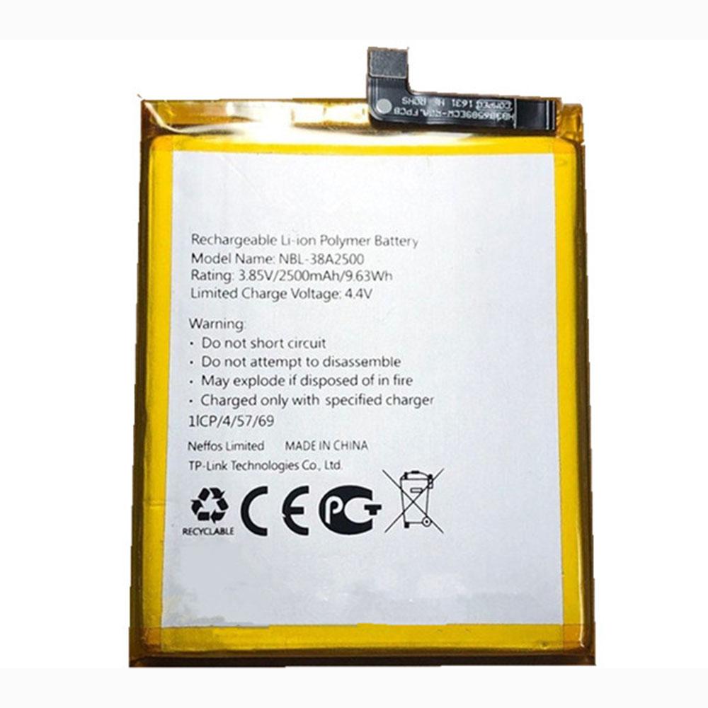 NBL-38A2500 2500mAh/9.63WH 3.85V/4.4V laptop accu
