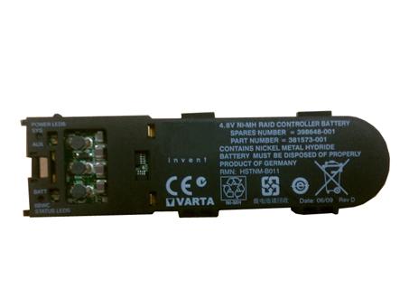 398648-001  4.8V laptop accu