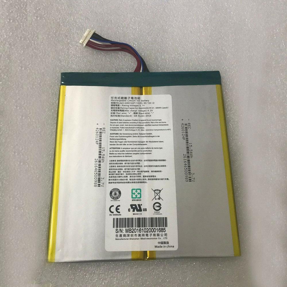 4260124P Tablet accu's