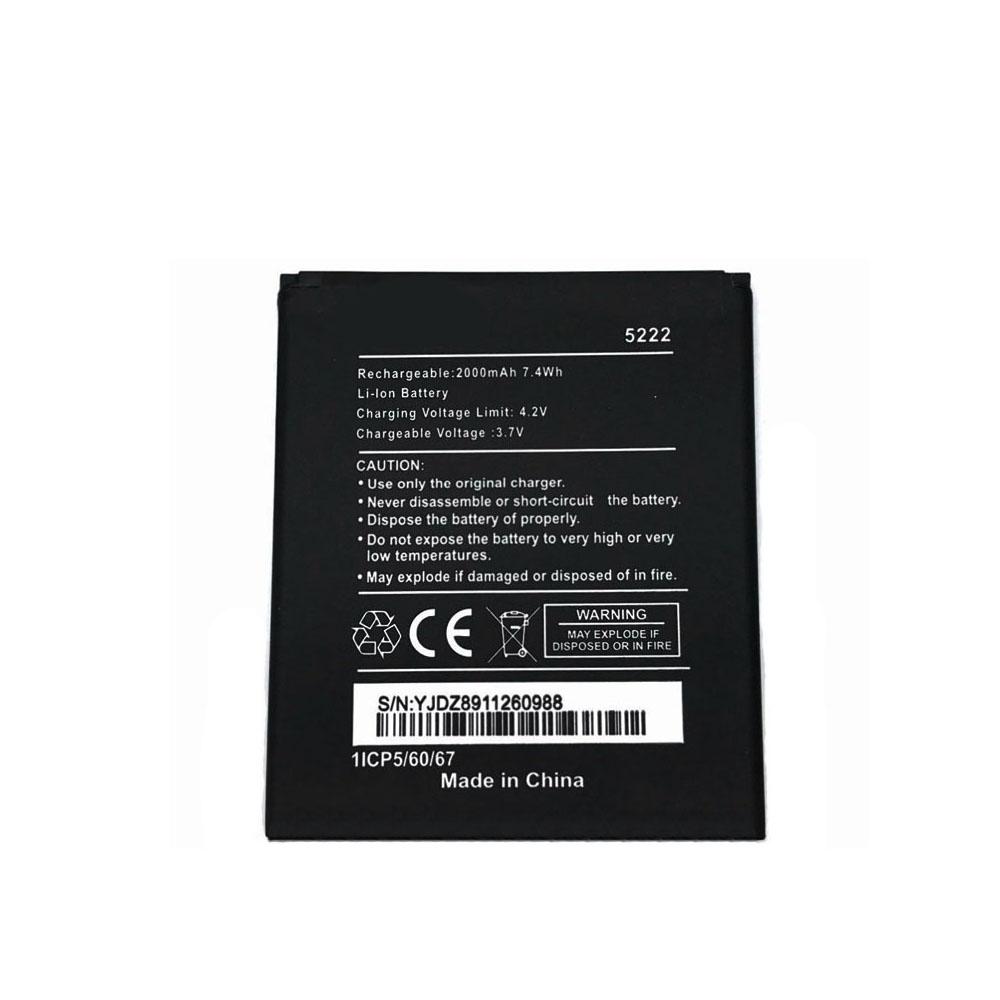 5222 2000mAh/7.4WH 3.7V/4.2V laptop accu