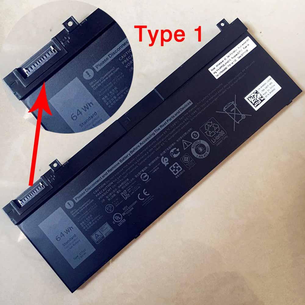 5TF10 laptop accu's