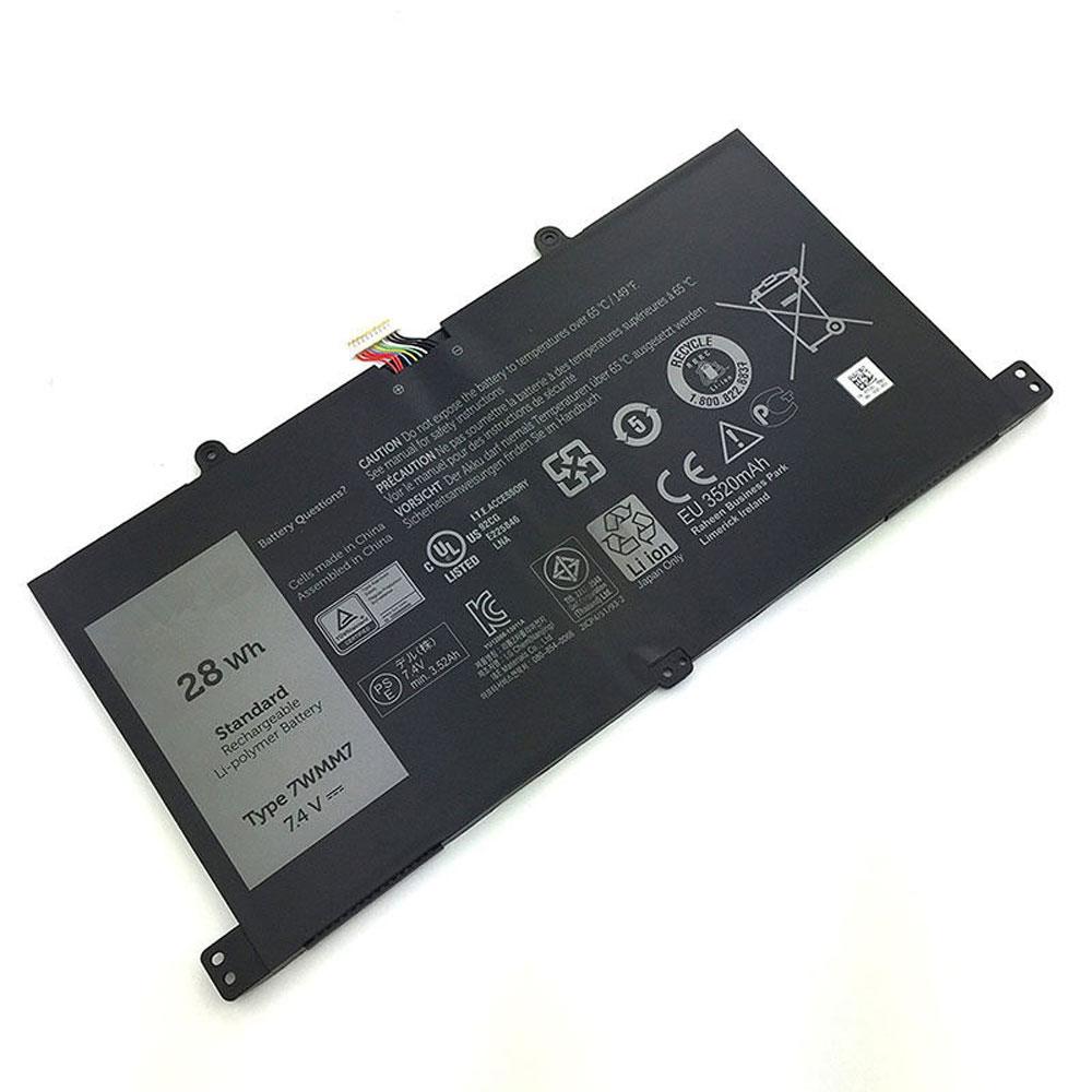 7WMM7 3250mAh/28WH 7.4V laptop accu