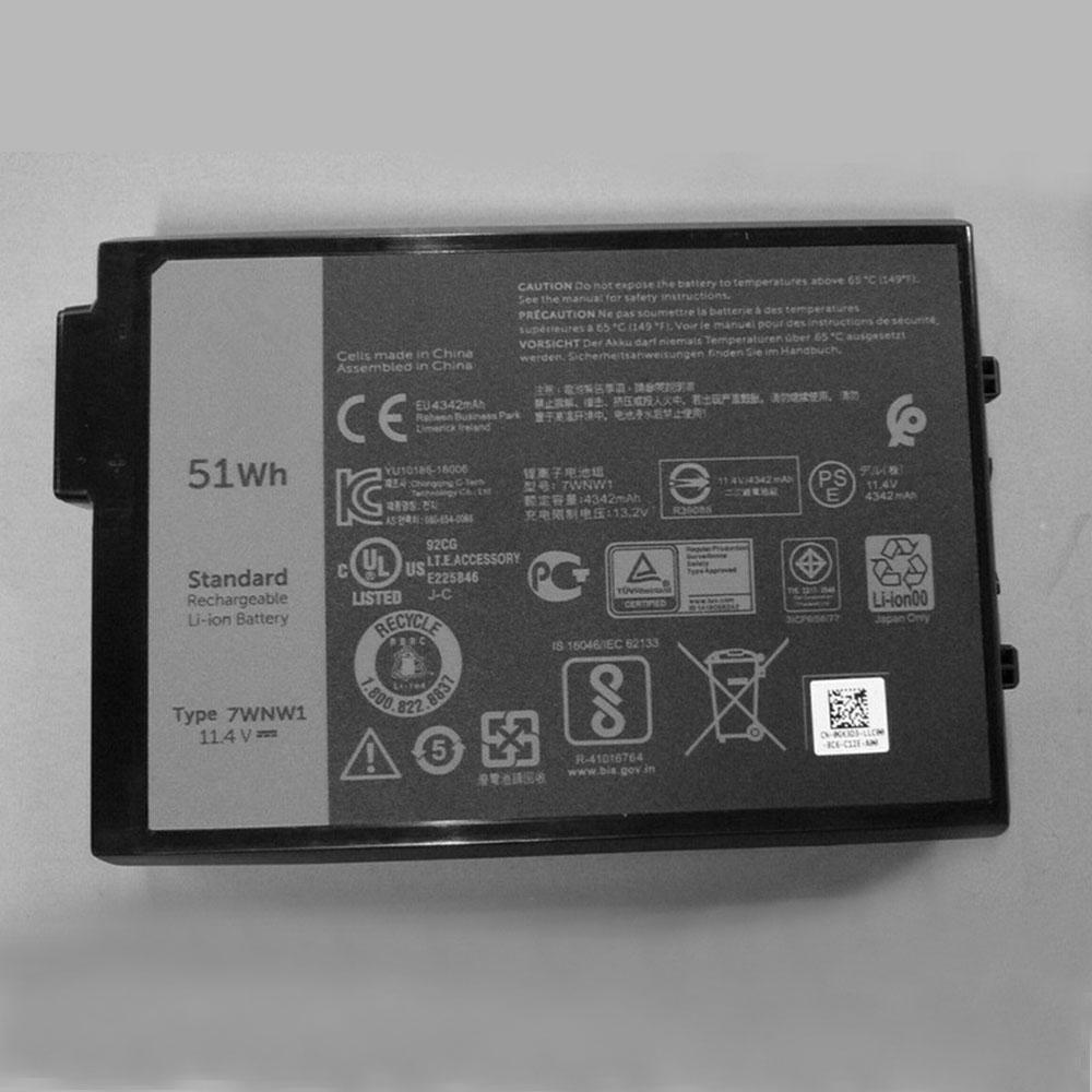 7WNW1 laptop accu's