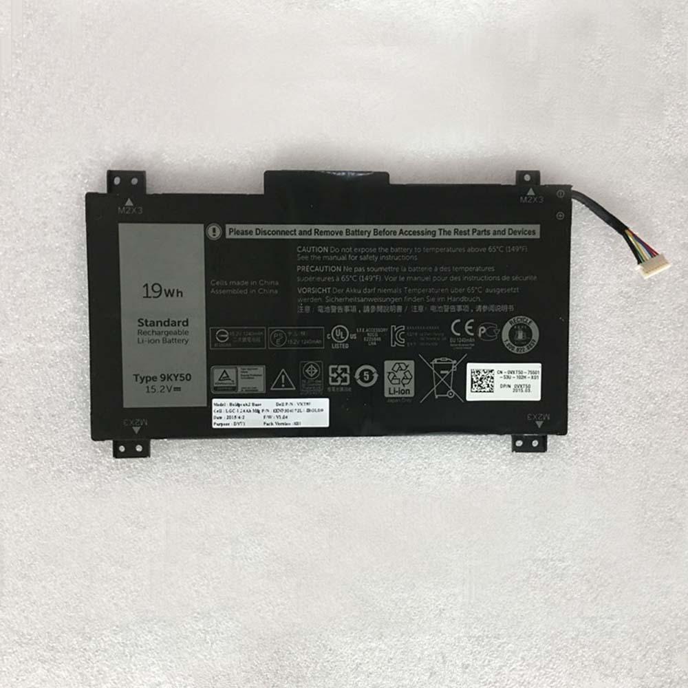 9KY50 Tablet accu's