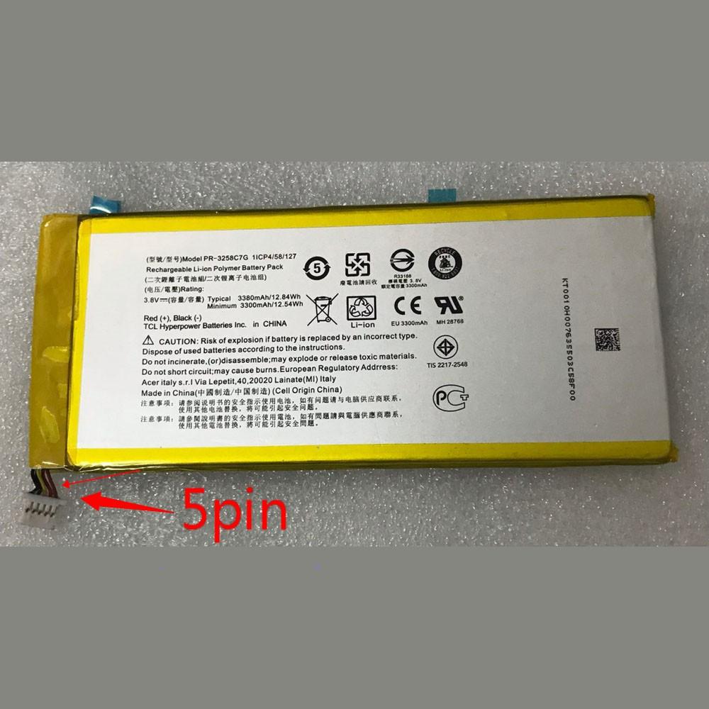 PR-3258C7G Telefoon Accu's
