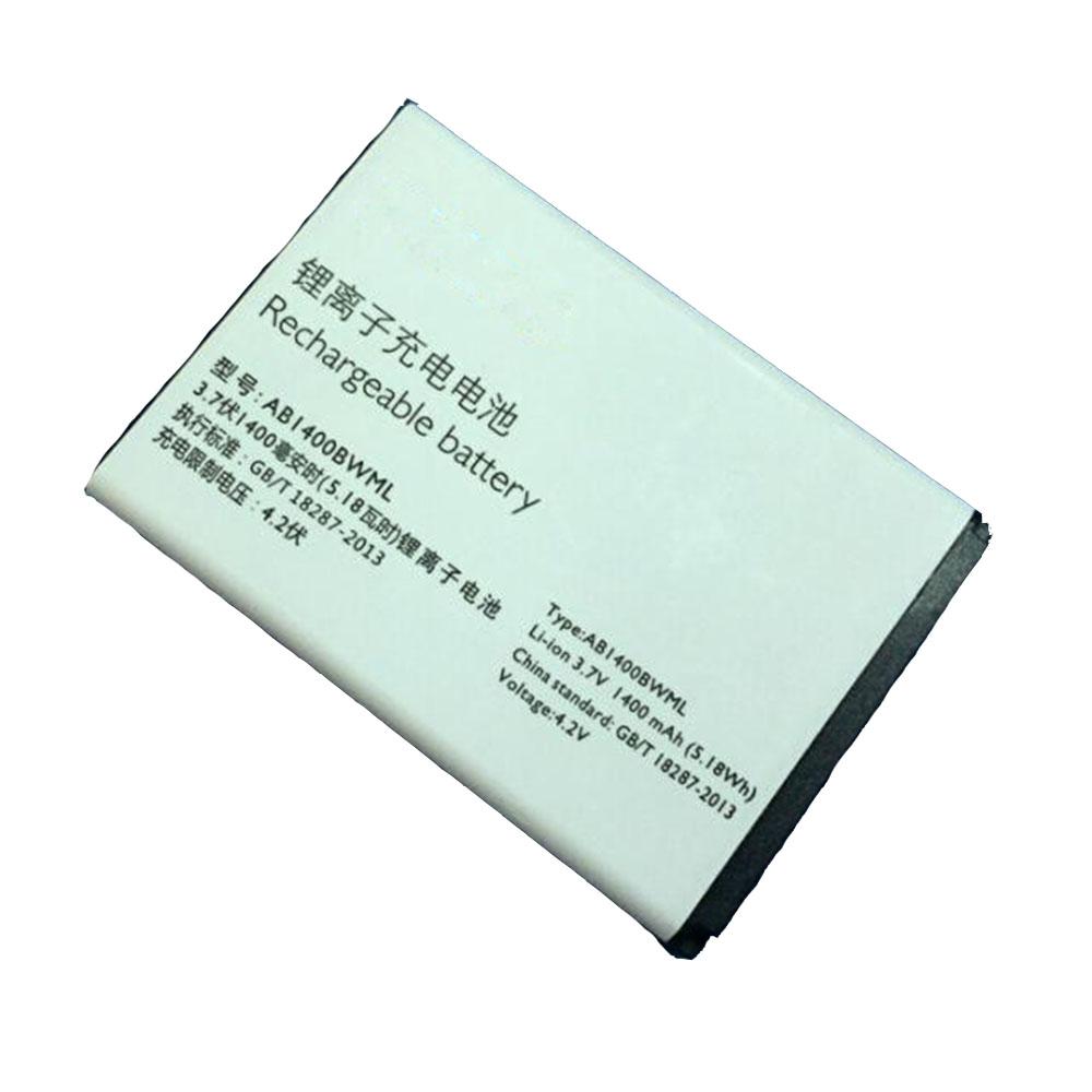 AB1400BWML 1400mAh/5.18WH 3.7V/4.2V laptop accu