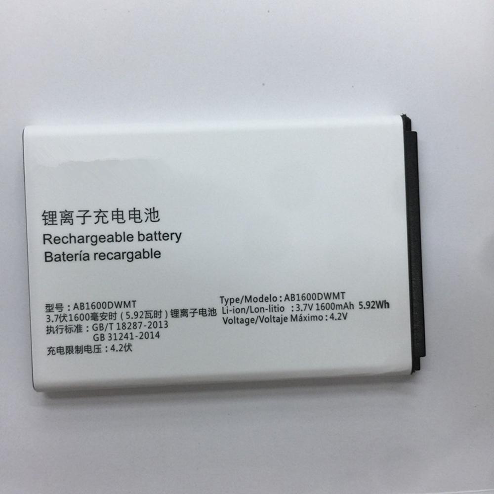 AB1600DWMT 1600mAh/5.92WH 3.7V/4.2V laptop accu