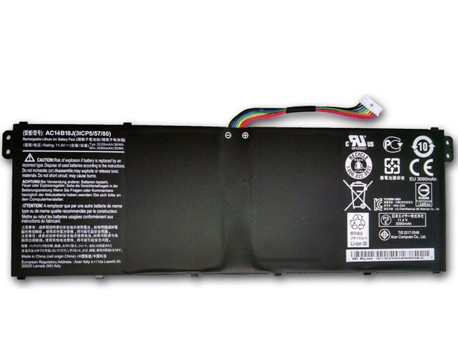 AC14B18 3220mah/6-Cell 11.4V laptop accu