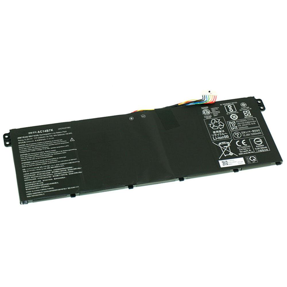 AC14B7K laptop accu's