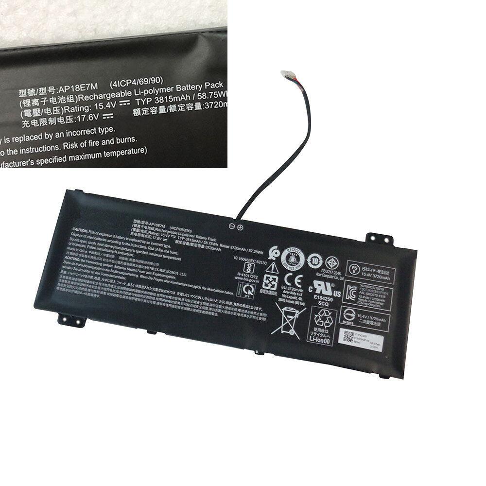 AP18E7M 3815mAh/58.75Wh 15.4V laptop accu