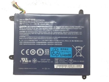 BAT1010 1530mah 7.4V laptop accu