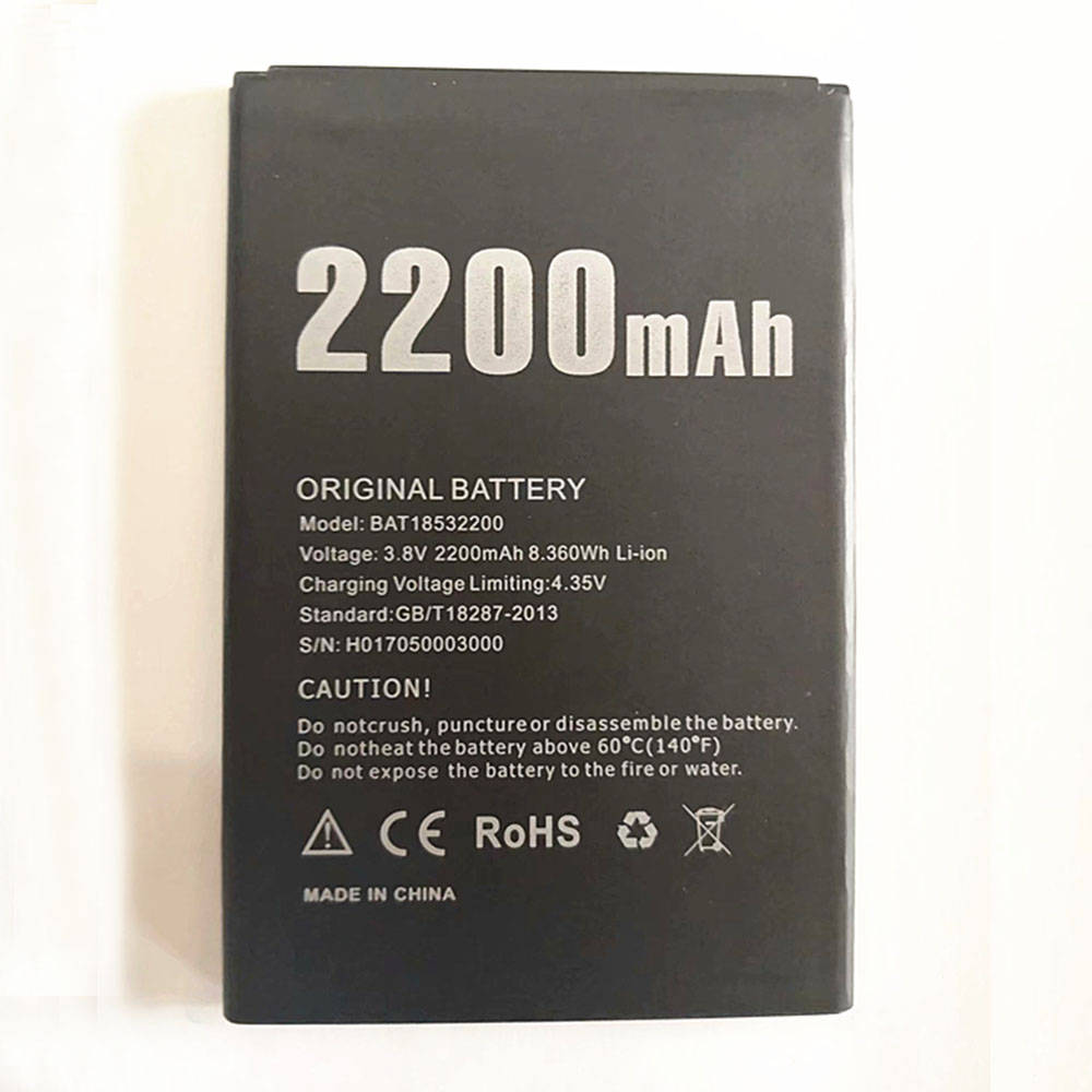 BAT18532200 3.8V/4.35V 2200mAh laptop accu