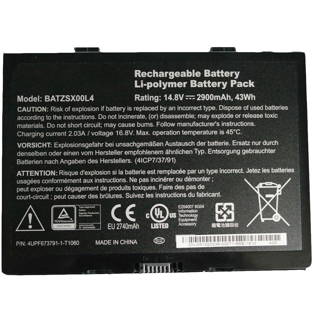 BATZSX00L4 laptop accu's