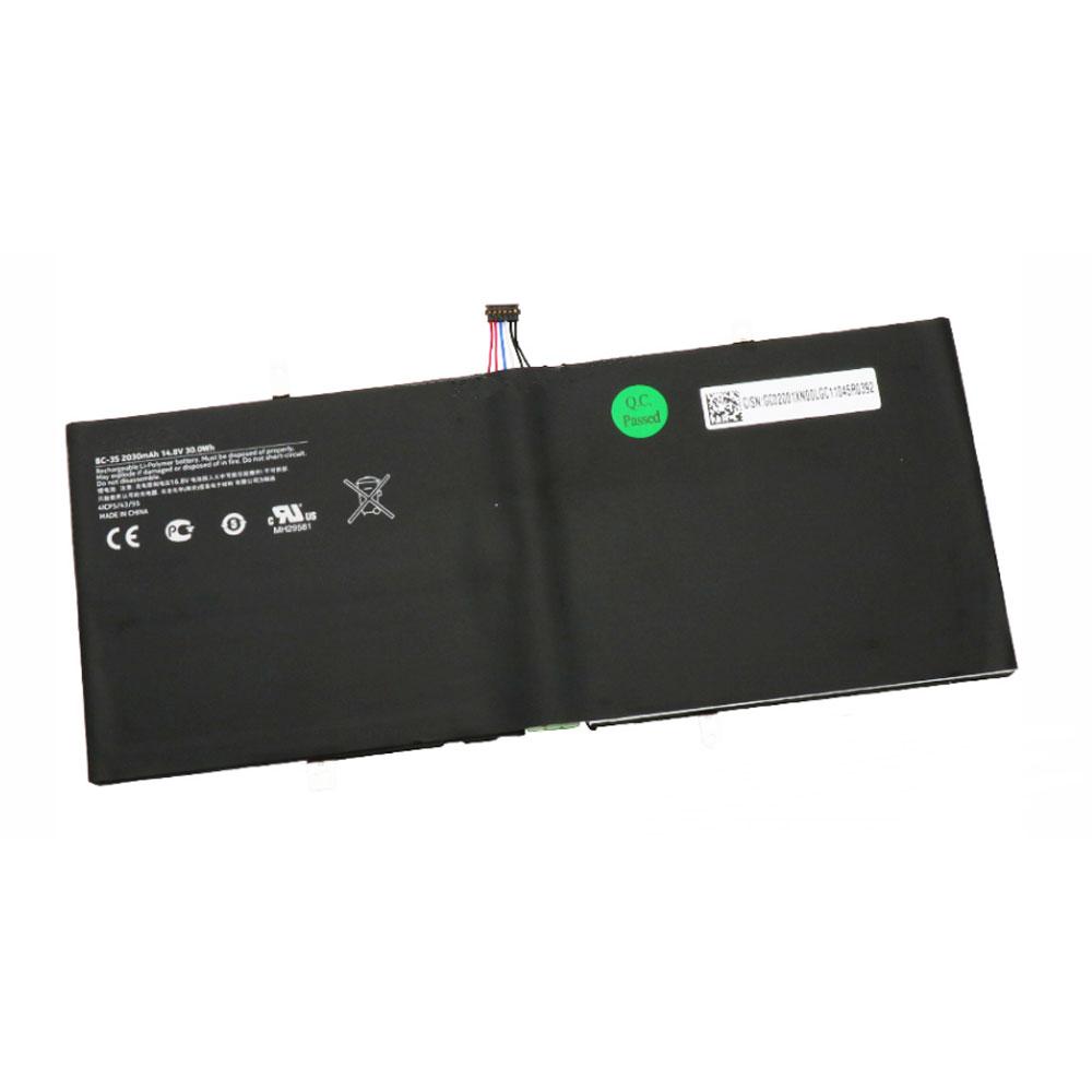 BC-3S laptop accu's