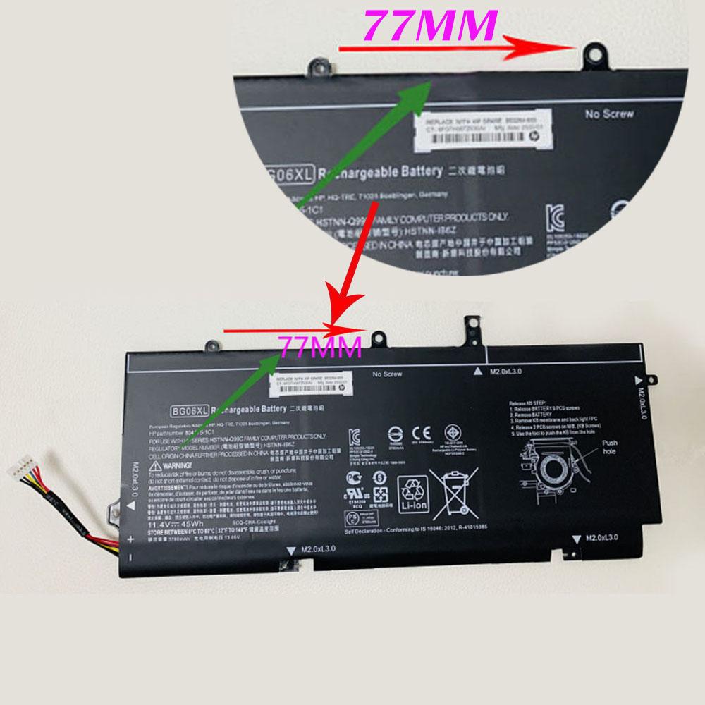 BG06XL 45Wh 11.4V laptop accu