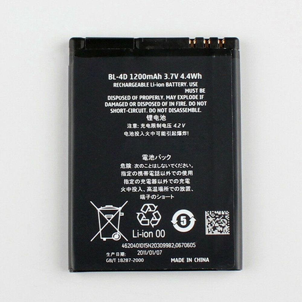 BL-4D Telefoon Accu's
