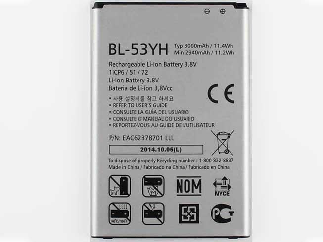 BL-53YH Telefoon Accu's