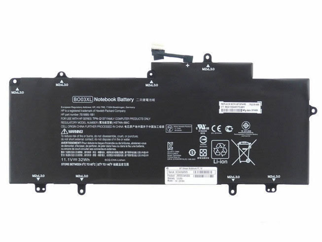bo03xl laptop accu