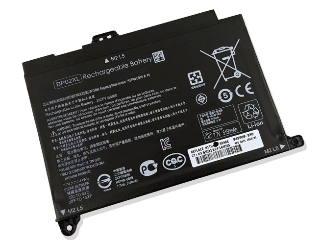 BP02XL 41Wh 7.7V laptop accu