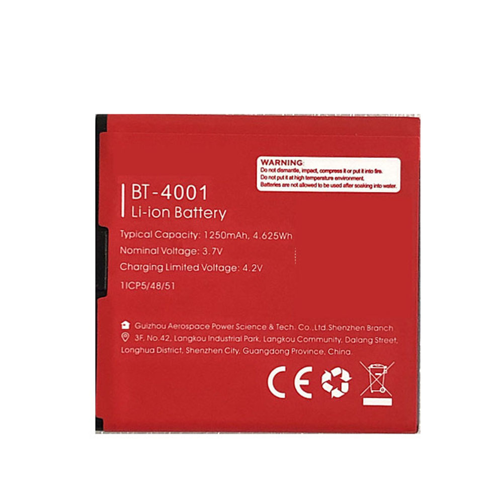 BT-4001 batterij