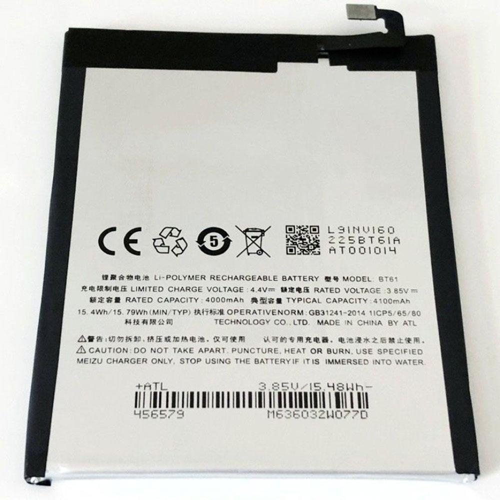 Meizu No Blue Note 3 M3NOTE Telefoon accu