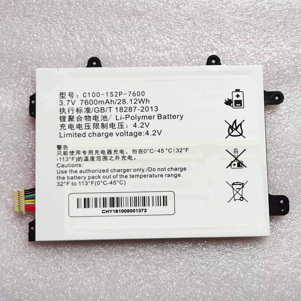 C100-1S2P-7600 laptop accu's