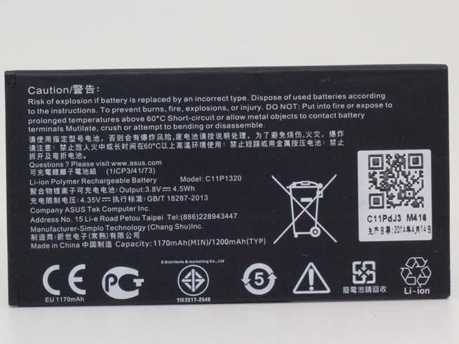 C11P1320 4.5Wh 3.8V laptop accu