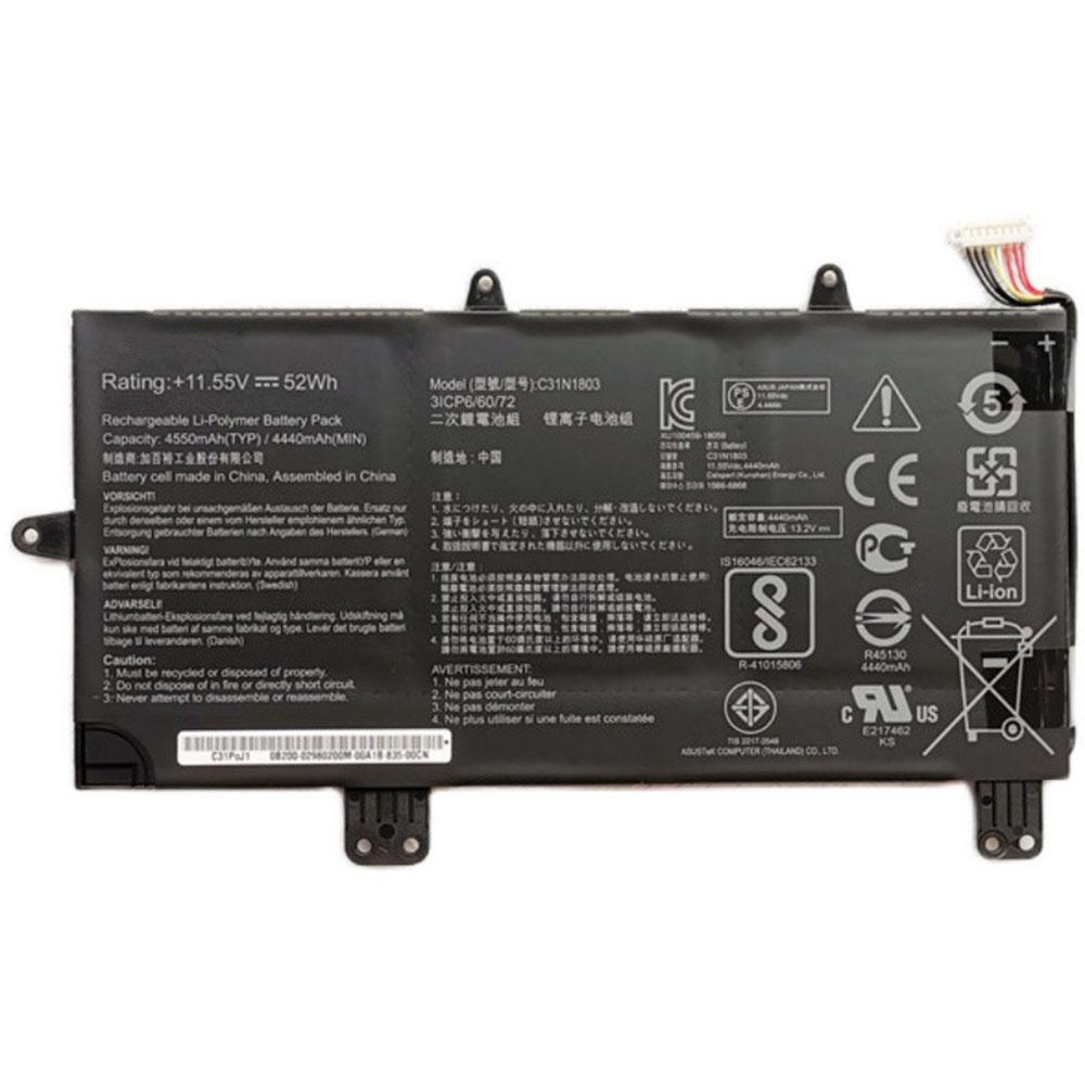 C31N1803 laptop accu's