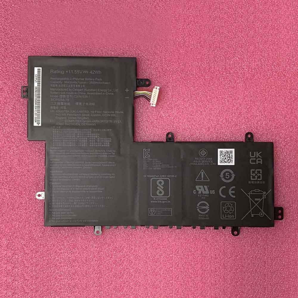 C31N1836 laptop accu's