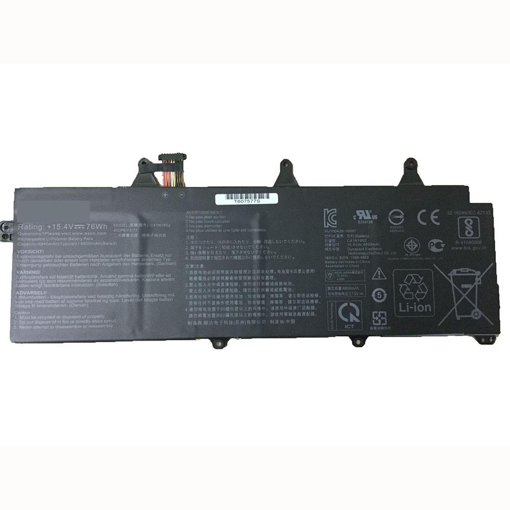 C41N1802 laptop accu's