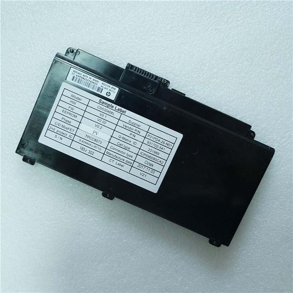 CD03XL 48Wh/4212mAh 11.4V laptop accu
