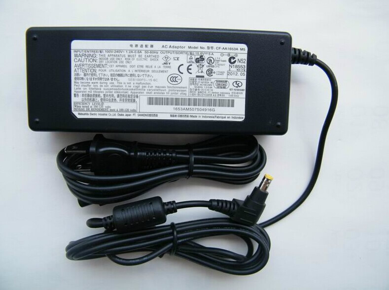 CF-AA1653A 15.6V  5A, 78W adapter