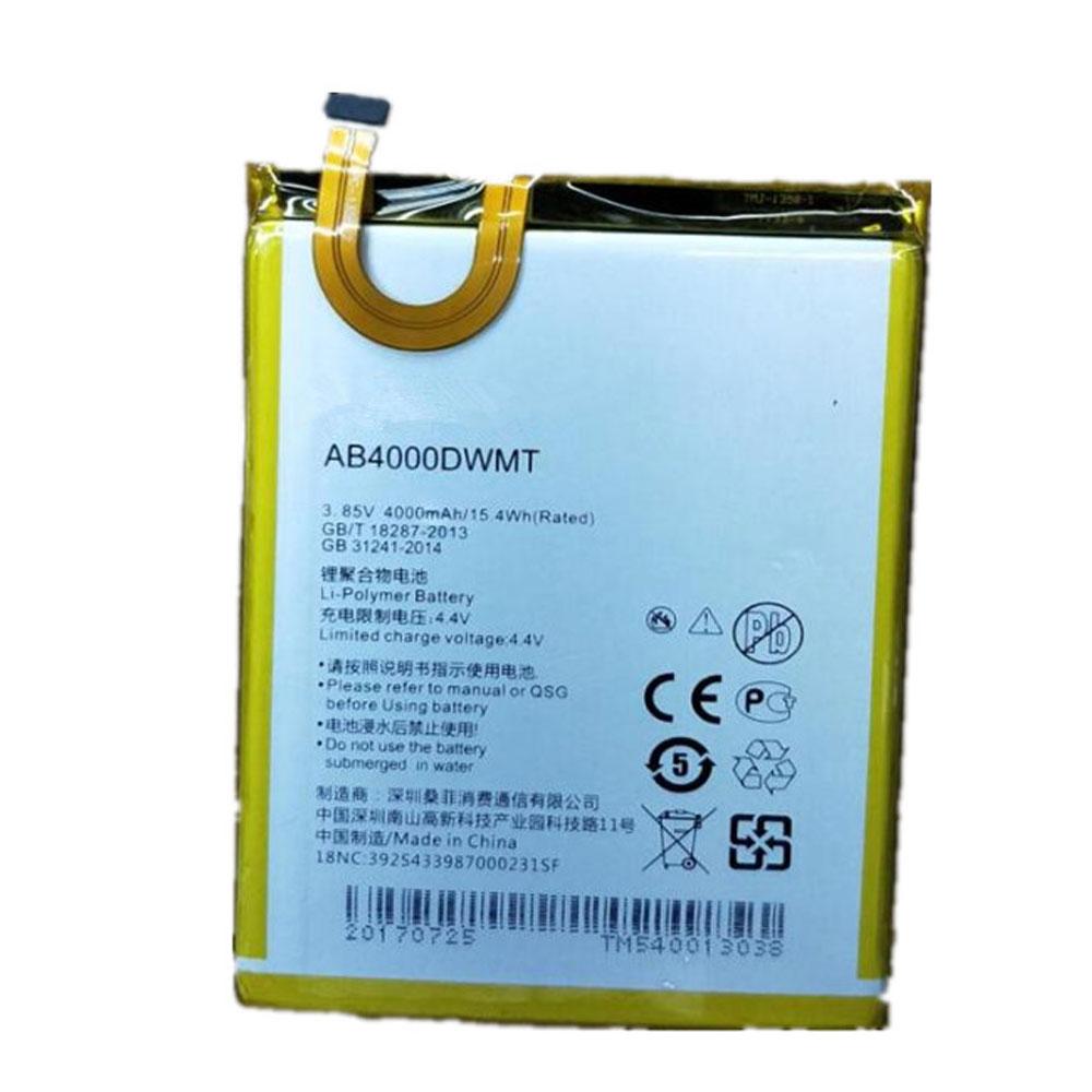 AB4000DWMV Telefoon Accu's