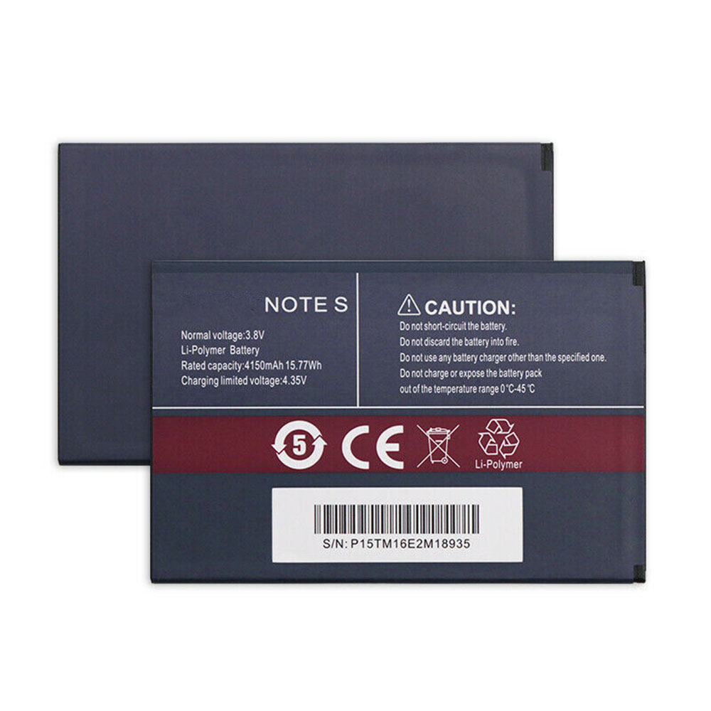 Note 4150mAh/15.77Wh 3.8V/4.35V laptop accu