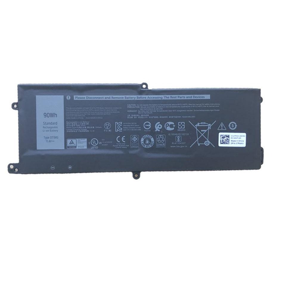 DT9XG batterij