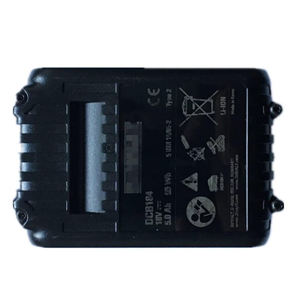 DEWDCB184 5.0Ah 18V laptop accu