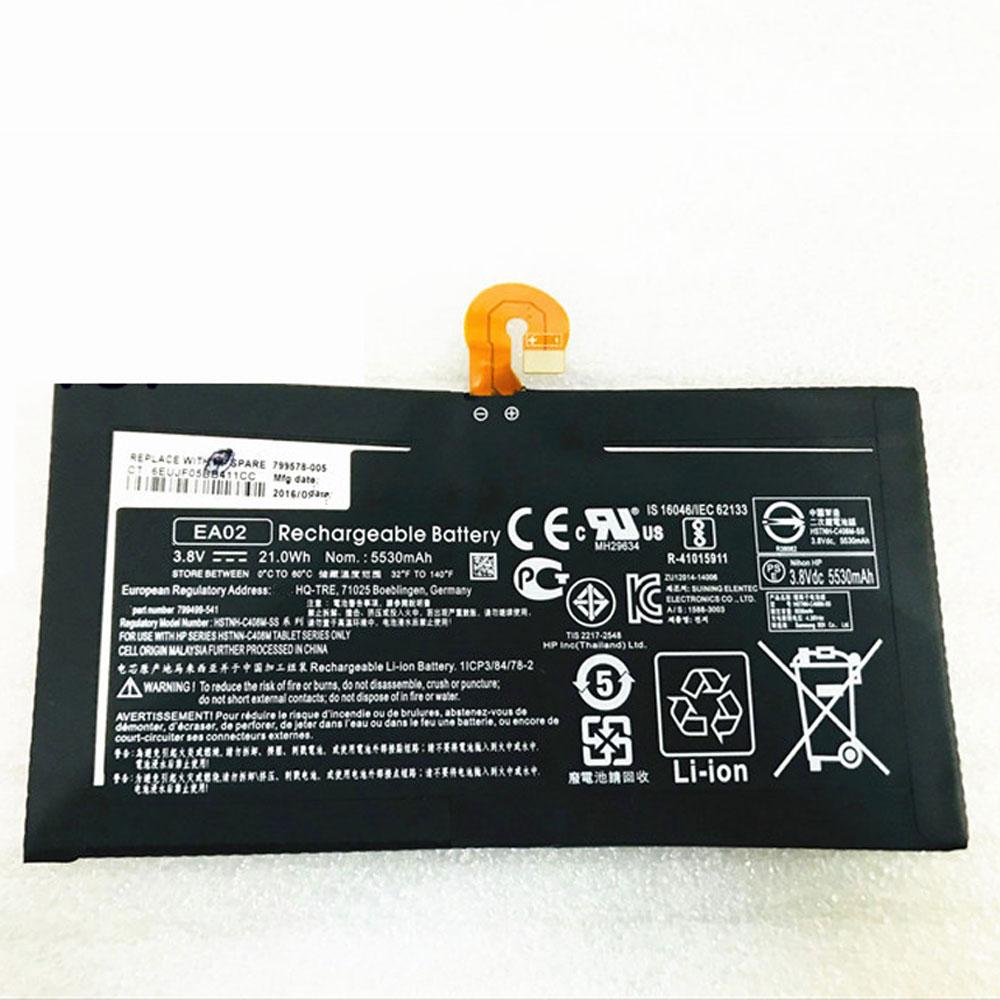 EA02 Tablet accu's