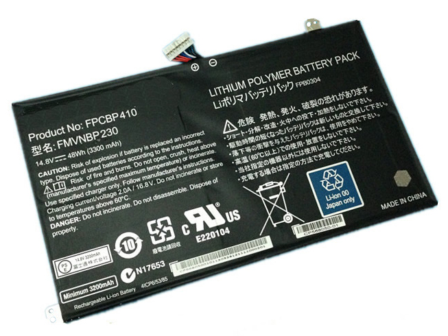 FPCBP410 laptop accu's