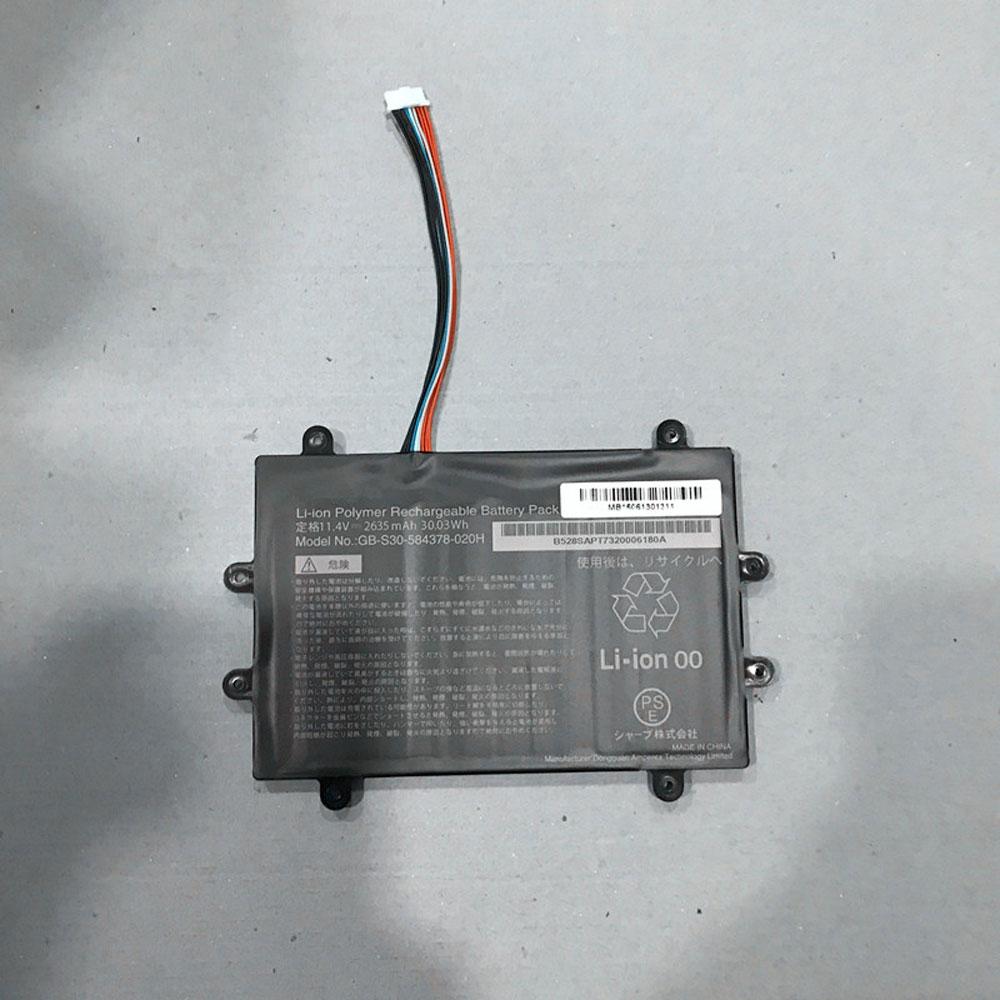GB-S30-584378-020H laptop accu's