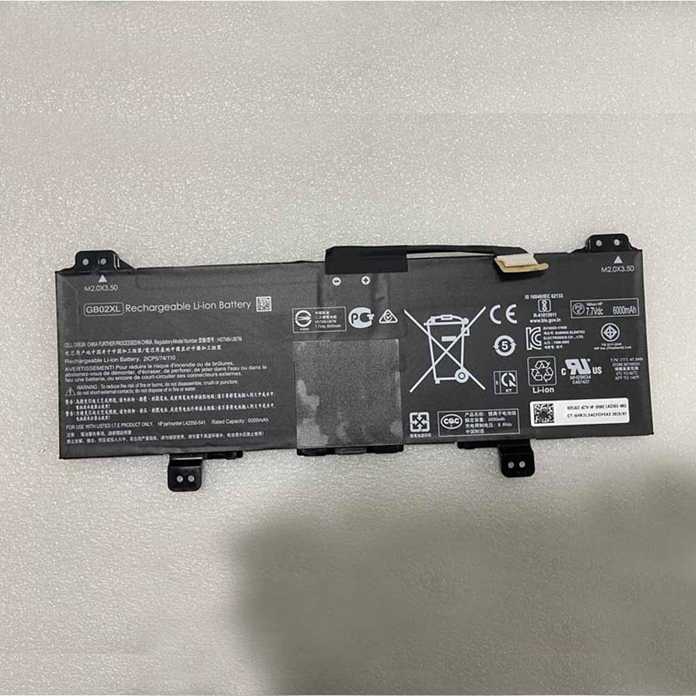 GB02XL laptop accu's
