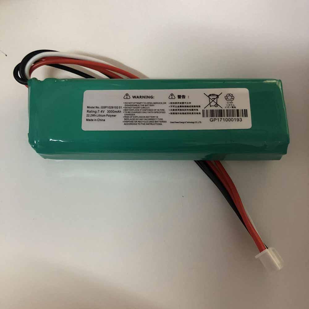 GSP1029102_01 3000mAh 7.4V laptop accu